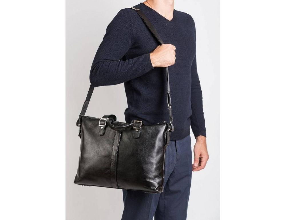 Мужская кожаная сумка Blamont Bn004A - Фото № 2