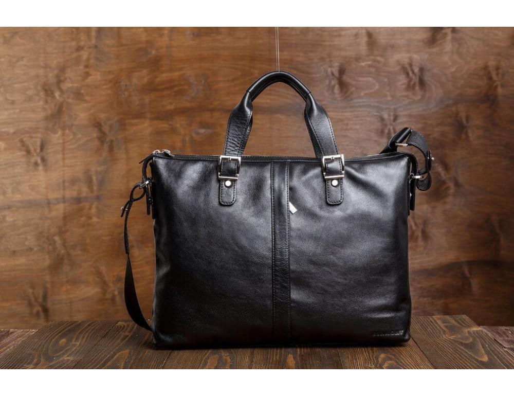 Мужская кожаная сумка Blamont Bn004A - Фото № 3