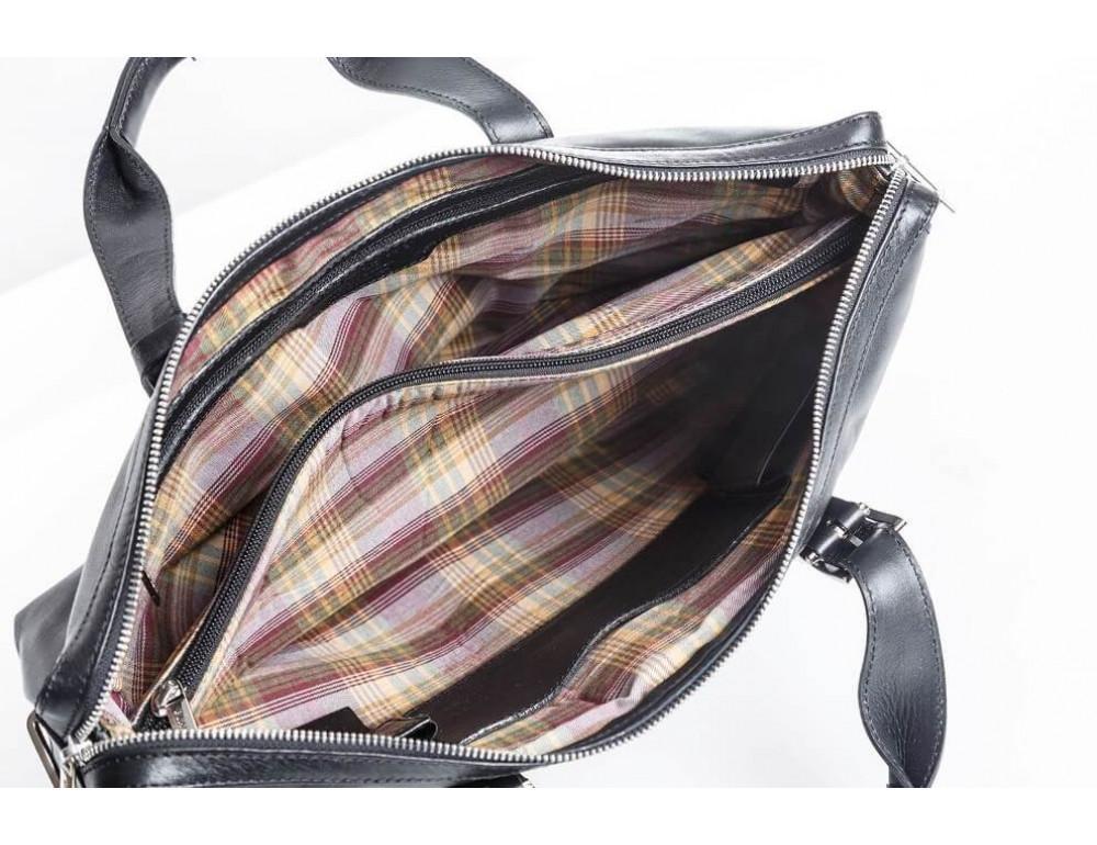 Мужская кожаная сумка Blamont Bn004A - Фото № 7