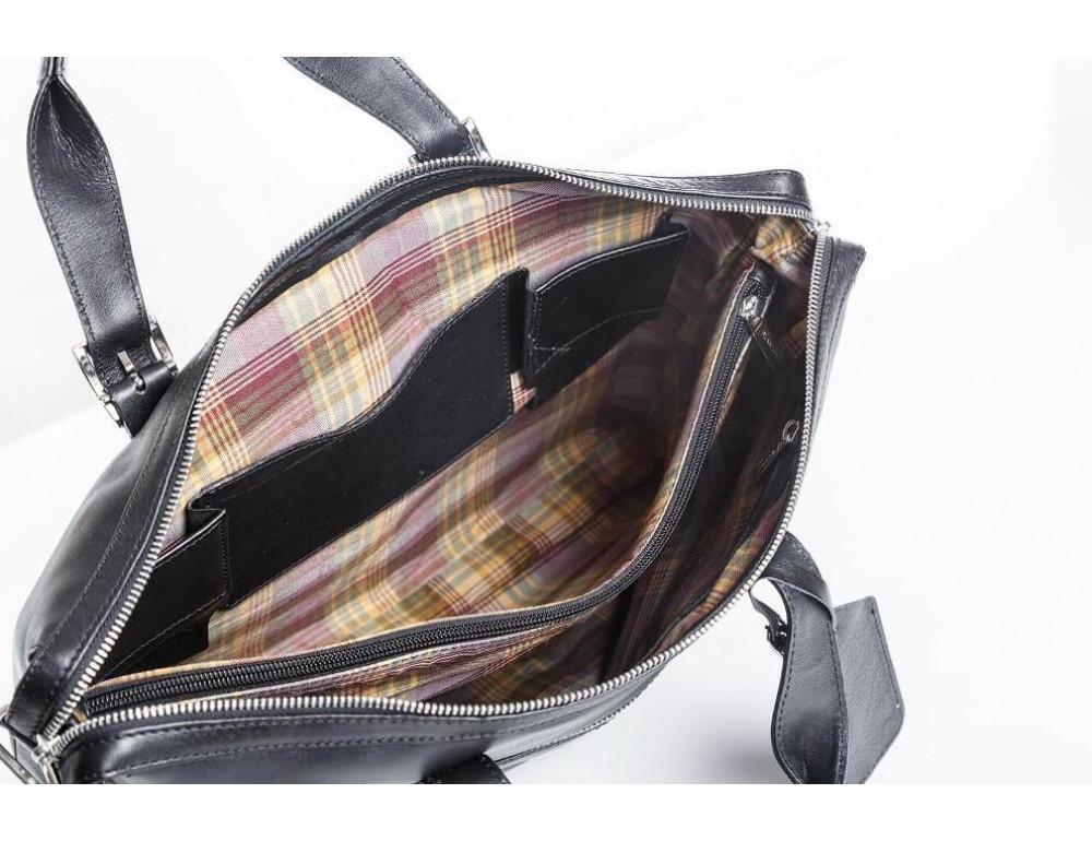 Мужская кожаная сумка Blamont Bn004A - Фото № 8