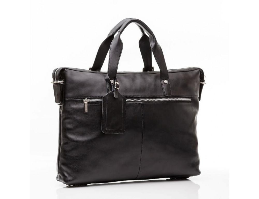 Мужская кожаная сумка Blamont Bn004A - Фото № 11