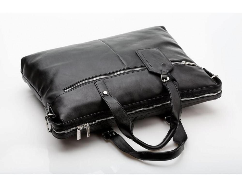 Мужская кожаная сумка Blamont Bn004A - Фото № 12