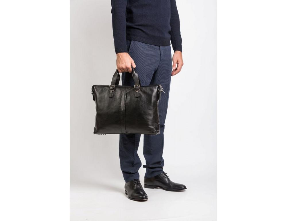 Мужская кожаная сумка Blamont Bn004A - Фото № 13