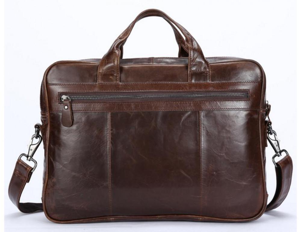 Мужская кожаная сумка JASPER-MAINE 7005Q  - Фото № 2
