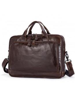 Мужская кожаная сумка JASPER-MAINE 7005Q