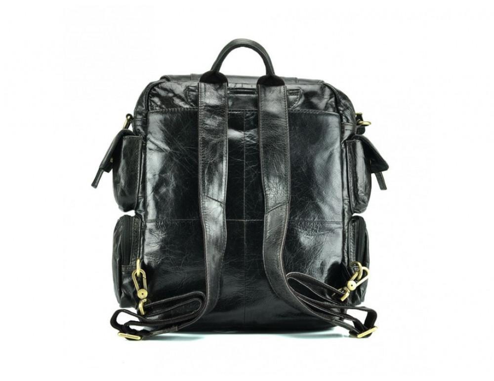 Рюкзак кожаный TIDING BAG 7123J серый - Фото № 4