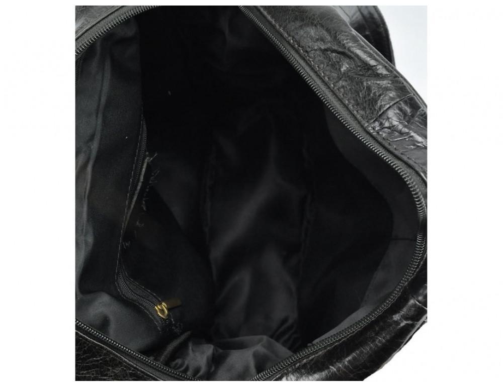 Рюкзак кожаный TIDING BAG 7123J серый - Фото № 5