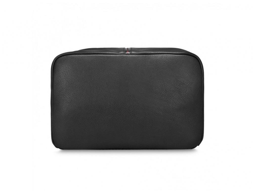 Рюкзак кожаный Tiding Bag B3-2639A чёрный - Фото № 8