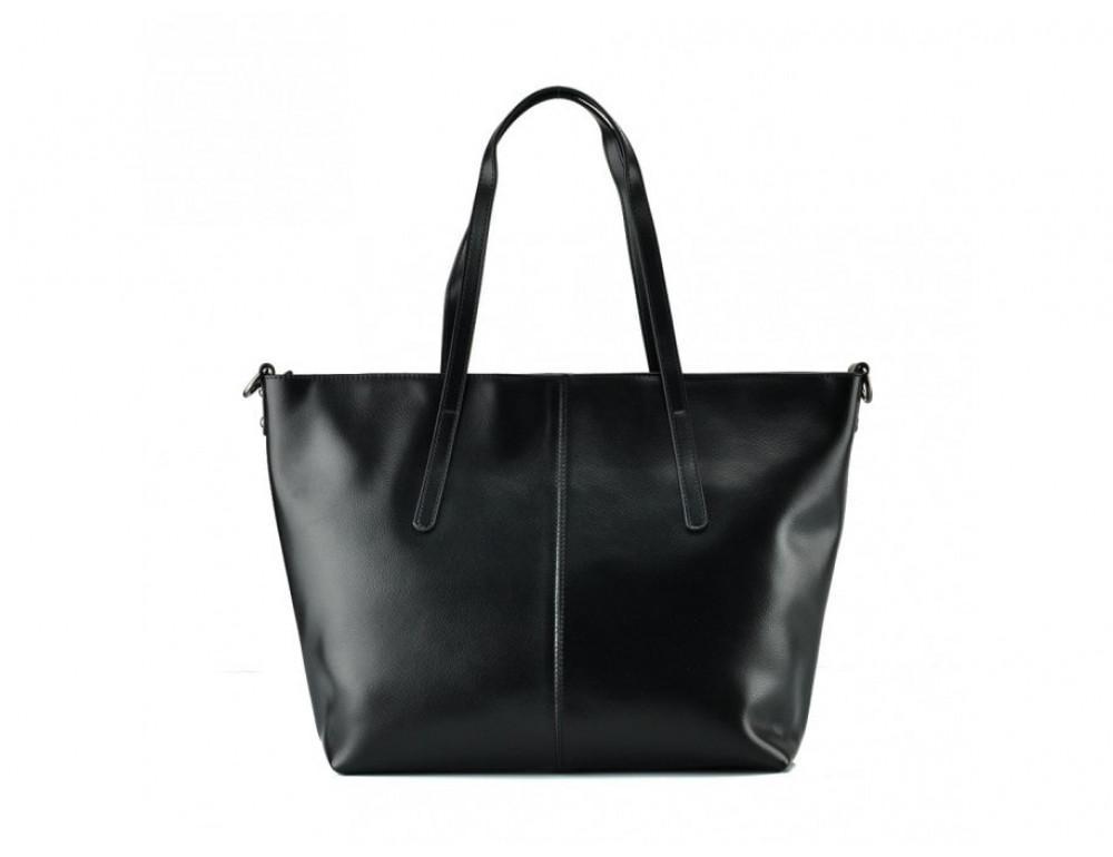 Женская кожаная сумка Grays GR3-8687A чёрный - Фото № 3