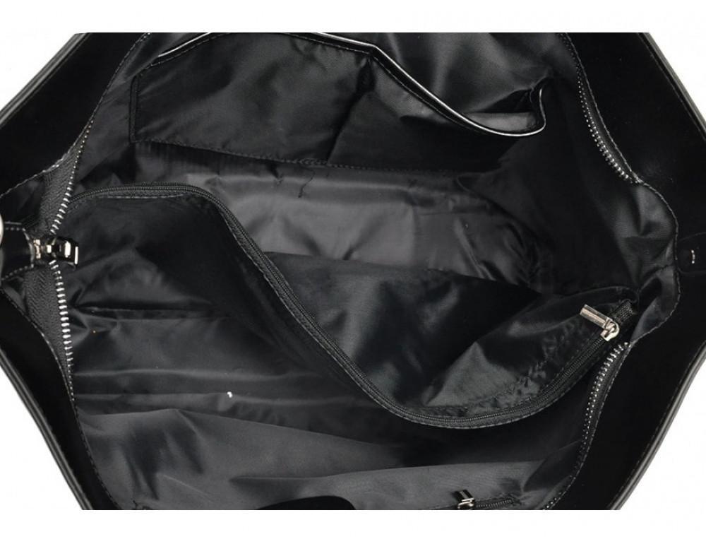 Женская кожаная сумка Grays GR3-8687A чёрный - Фото № 5