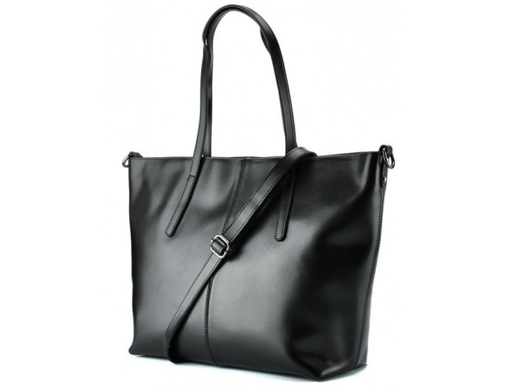 Женская кожаная сумка Grays GR3-8687A чёрный - Фото № 1