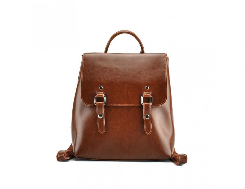 Женский рюкзак Grays GR3-9036LB-BP Cветло - коричневый - Фото № 3