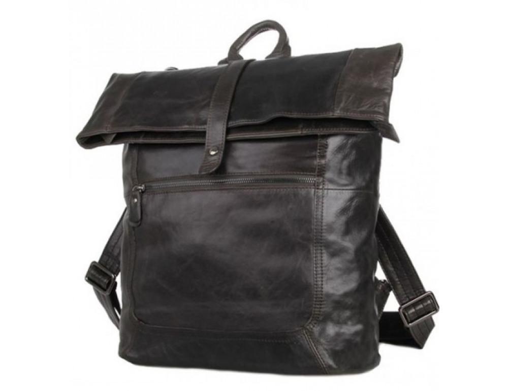 Чоловічий шкіряний рюкзак TIDING BAG 7204J