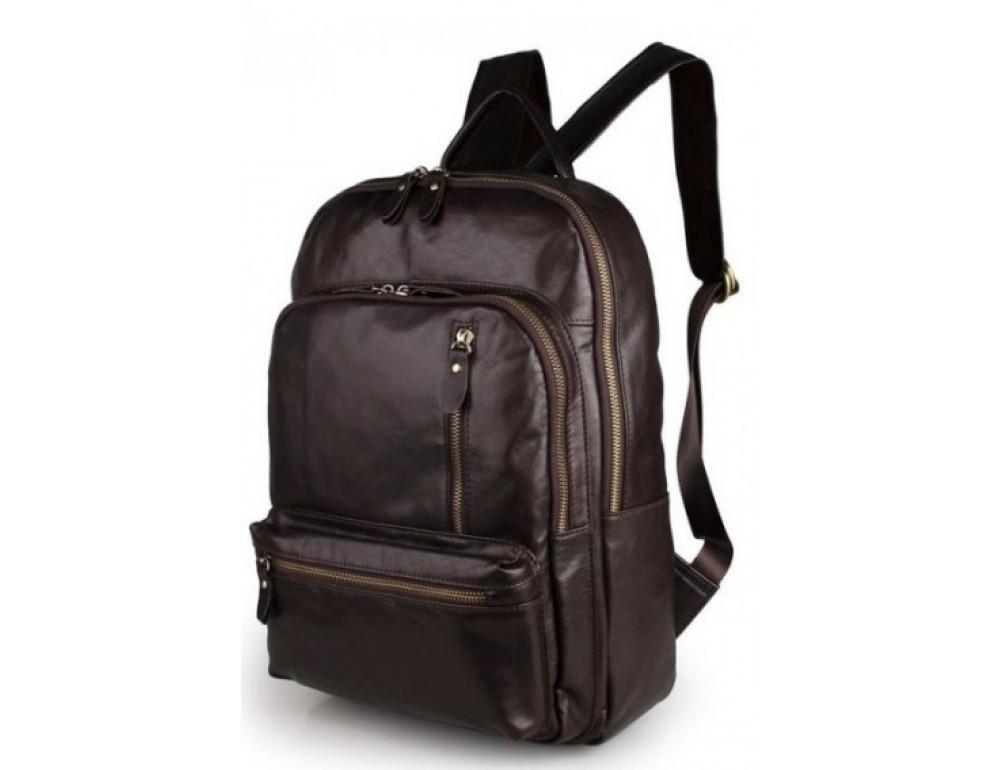 Чоловічий шкіряний рюкзак TIDING BAG 7313Q