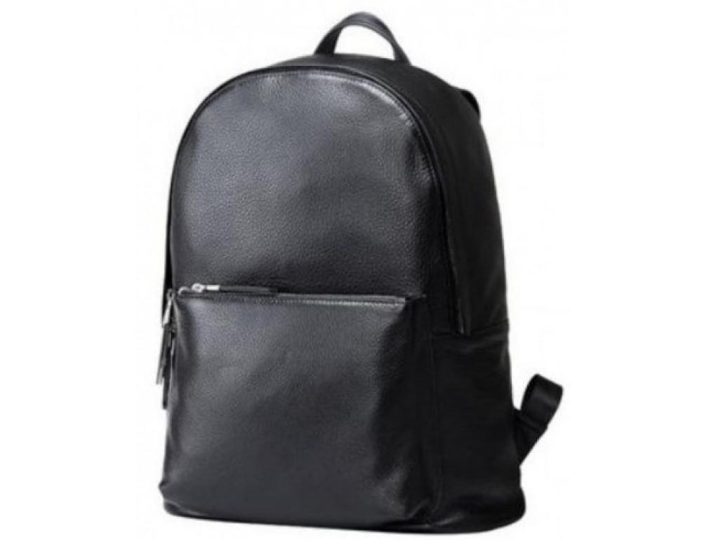 Мужской кожаный рюкзак TIDING BAG B3-012A чёрный