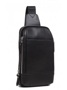 Мужская сумка через плечо TIDING BAG B3-087A черная