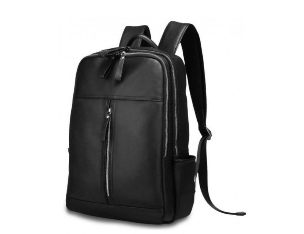 Чоловічий шкіряний рюкзак TIDING BAG B3-1692A чорний