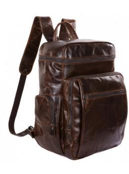Мужской кожаный рюкзак TIDING BAG 7202C