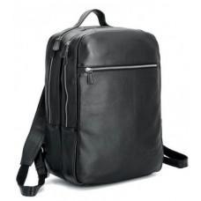 Мужской кожаный рюкзак TIDING BAG T3064 черный