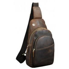Мужская сумка на плечо Tiding Bag M37-XB8008C Коричневая