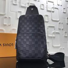 Мужской рюкзак Louis Vuitton N41720 чёрный