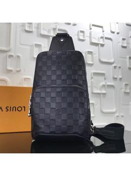 Кожаный рюкзак Louis Vuitton N41720 чёрный