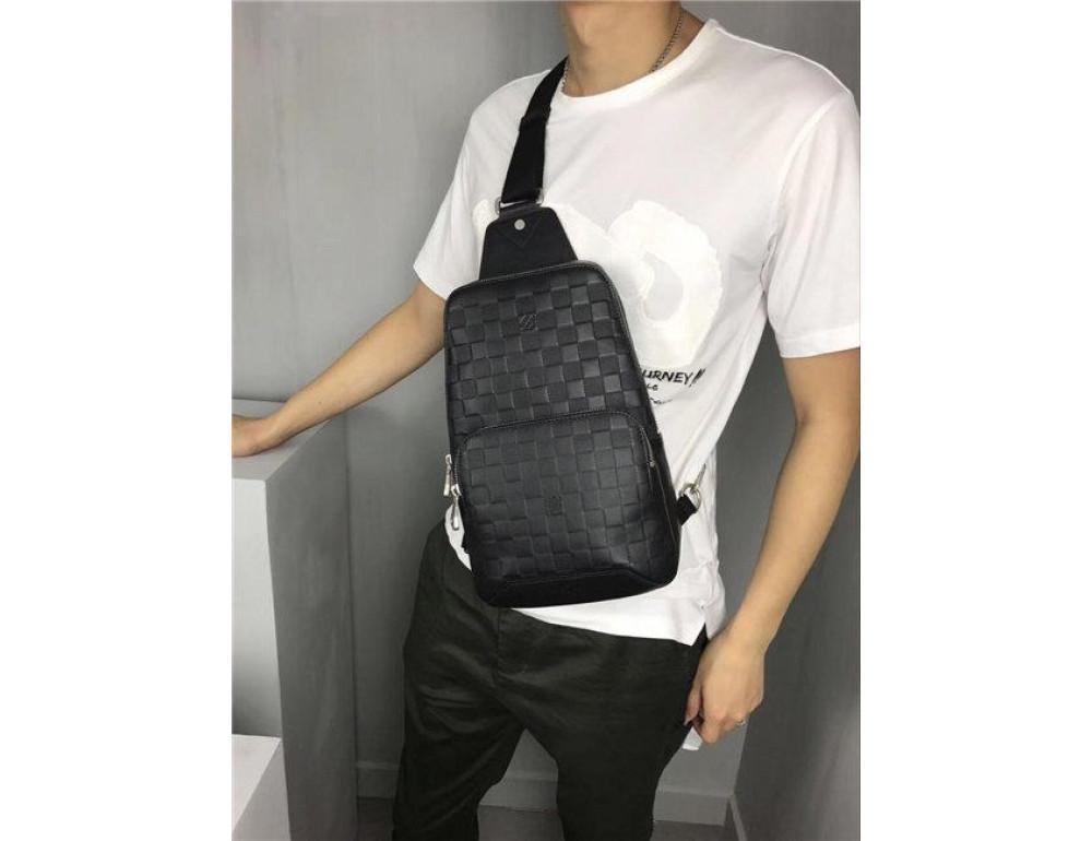 Мужской рюкзак Louis Vuitton N41720 чёрный - Фото № 7
