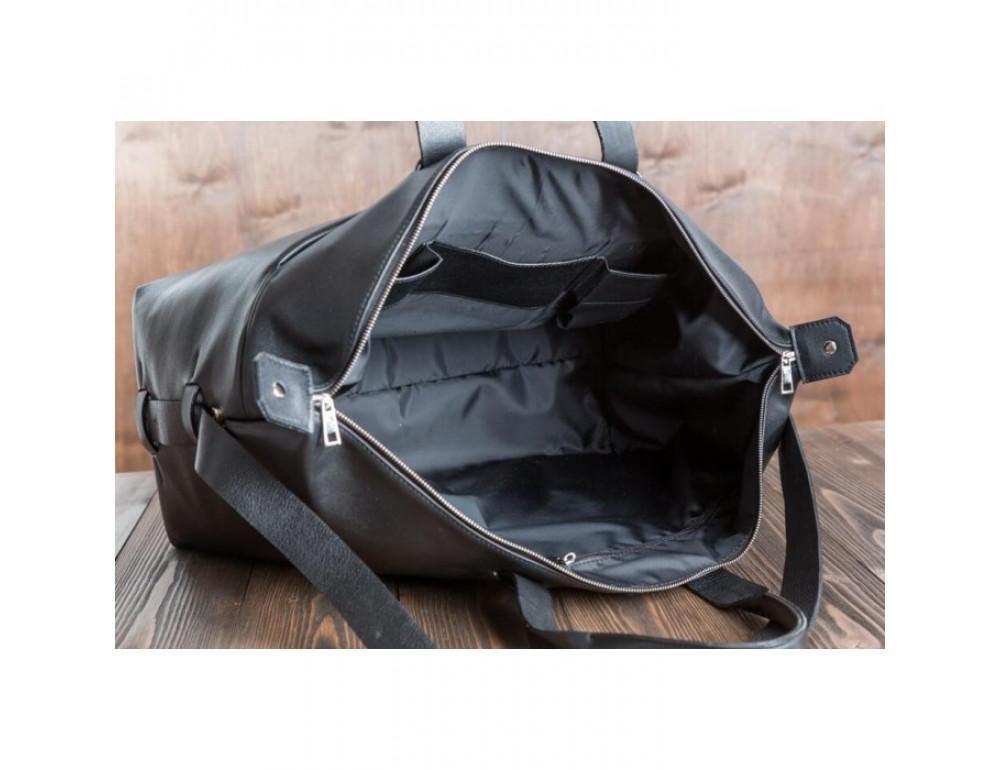 Очень большая дорожная сумка Blamont Bn072A чёрная - Фото № 5