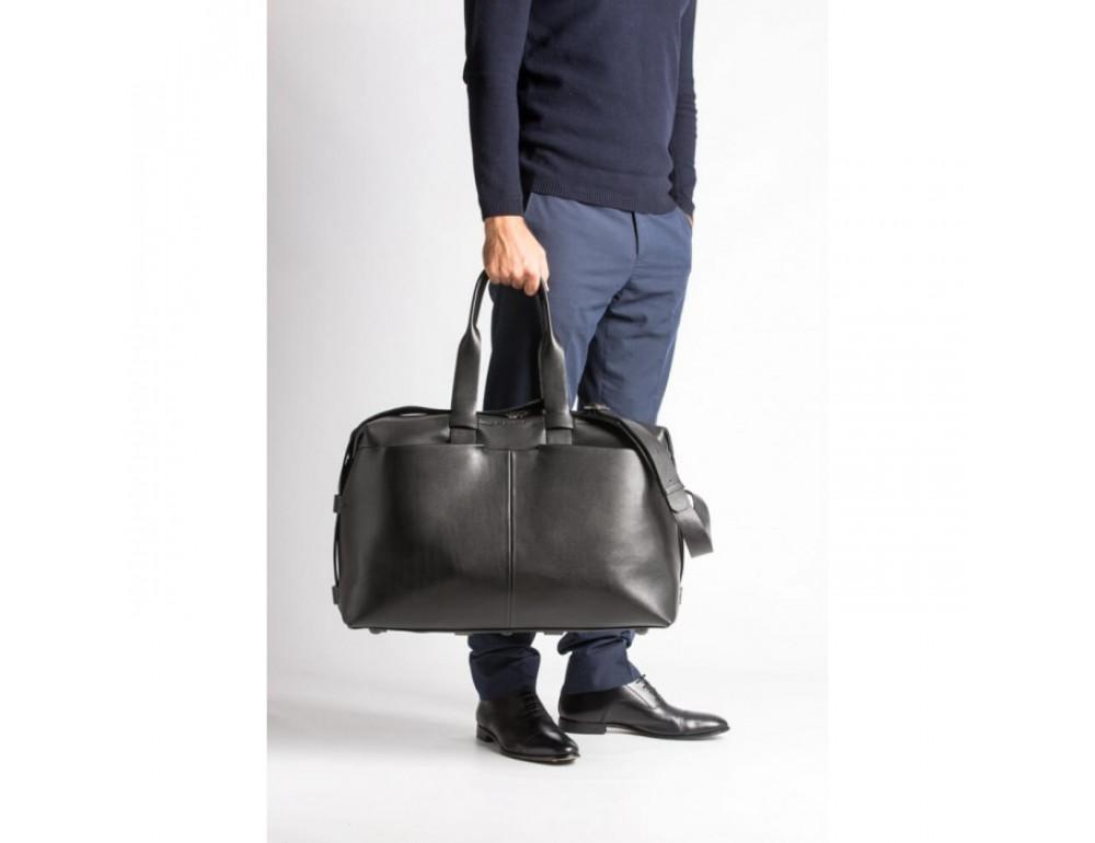 Очень большая дорожная сумка Blamont Bn072A чёрная - Фото № 6