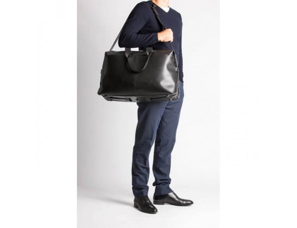 Очень большая дорожная сумка Blamont Bn072A чёрная - Фото № 7