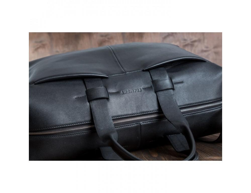 Очень большая дорожная сумка Blamont Bn072A чёрная - Фото № 11