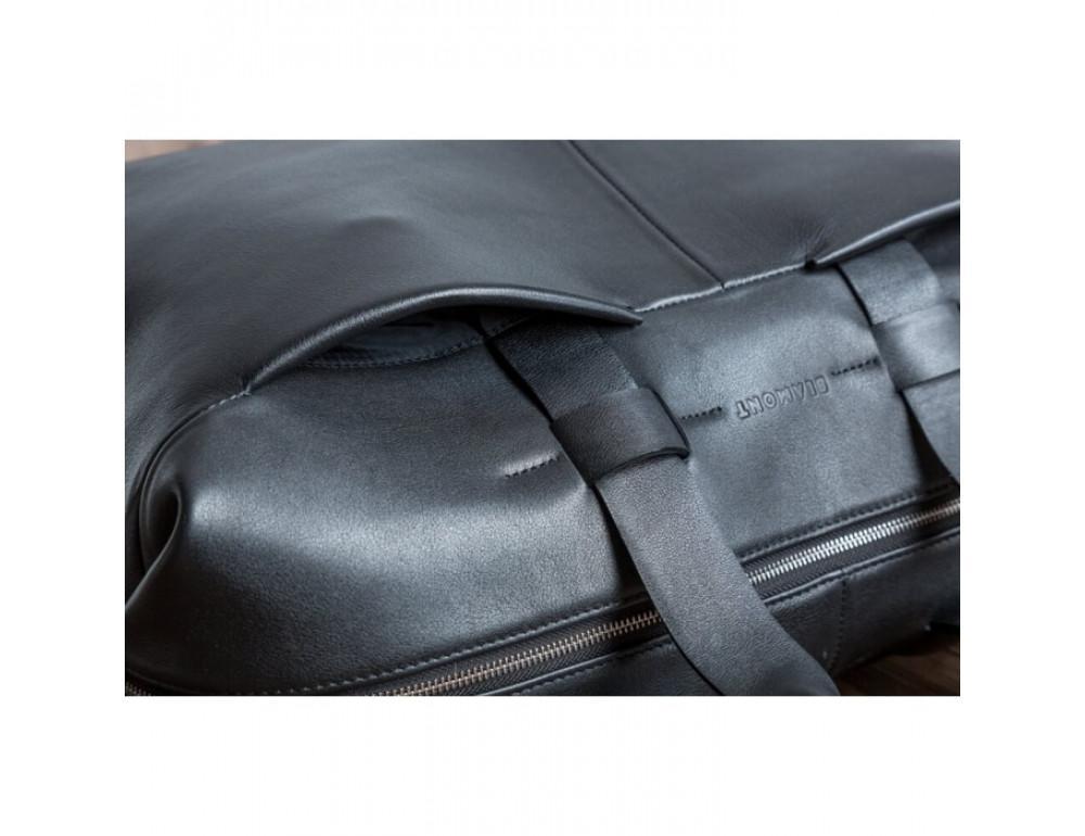 Очень большая дорожная сумка Blamont Bn072A чёрная - Фото № 12