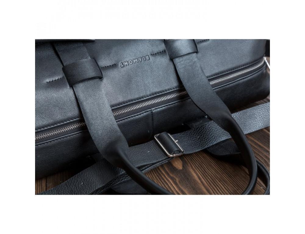 Очень большая дорожная сумка Blamont Bn072A чёрная - Фото № 3