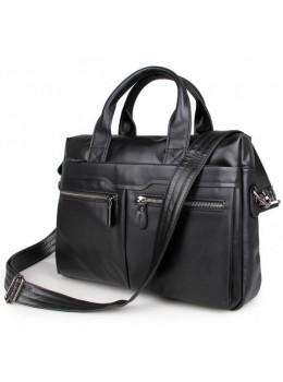 Кожаная сумка для ноутбука JASPER & MAINE 7122A-1