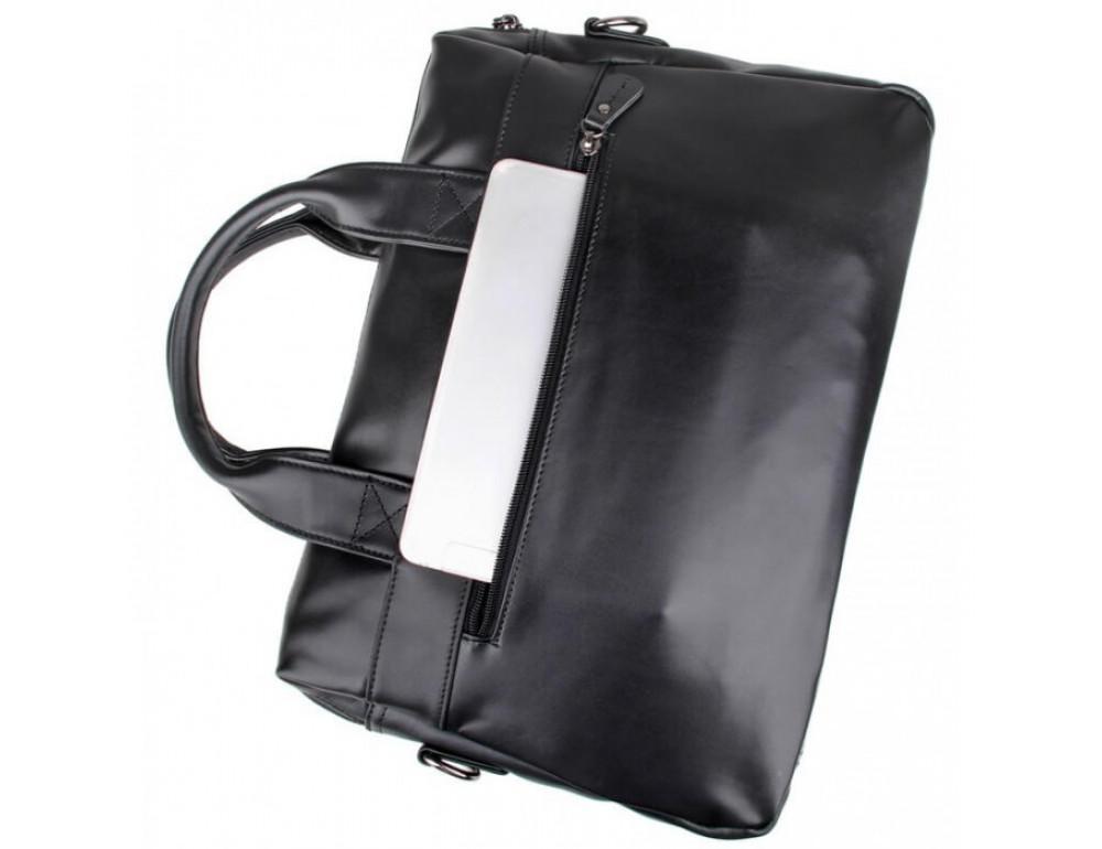 Кожаная сумка для ноутбука JASPER & MAINE 7122A-1 - Фото № 8