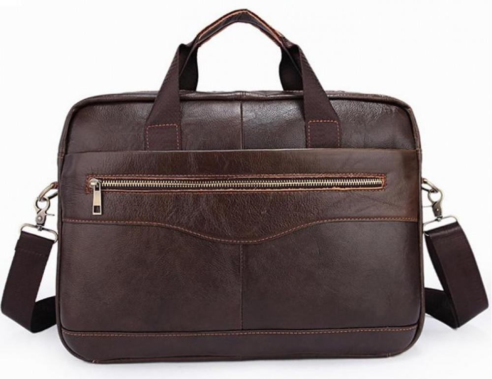 Чоловіча шкіряна сумка під ноутбук Bexhill Bx1128C - Фотографія № 2