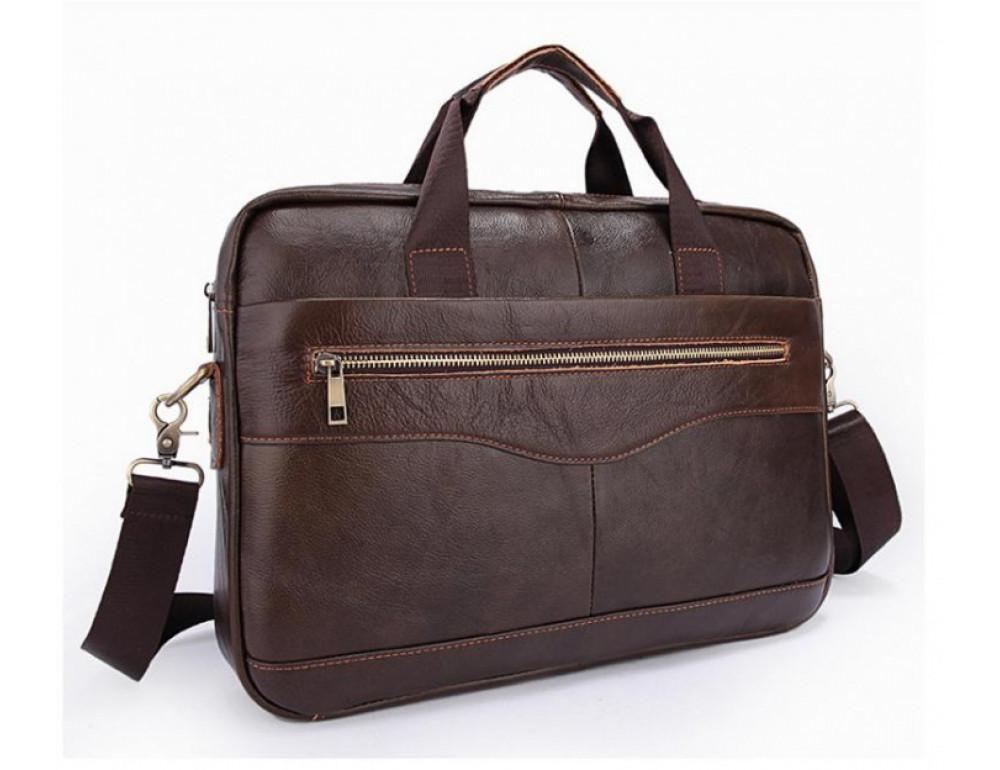 Чоловіча шкіряна сумка під ноутбук Bexhill Bx1128C
