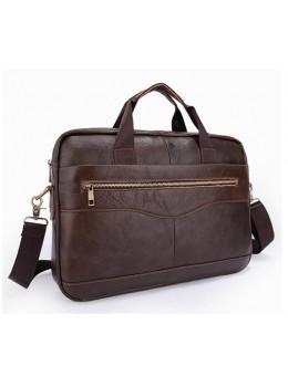 Мужская кожаная сумка под ноутбук Bexhill Bx1128C