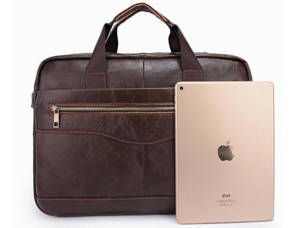 Чоловіча шкіряна сумка під ноутбук Bexhill Bx1128C - Фотографія № 5