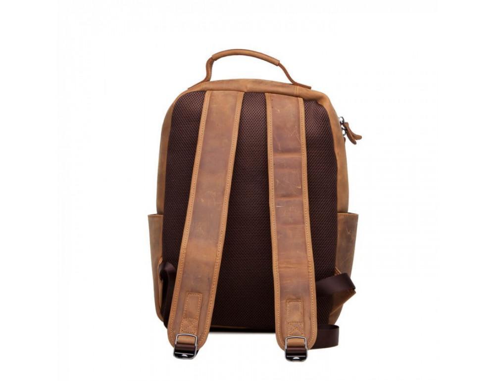 Винтажный городской рюкзак TIDING BAG t0005 коричневый - Фото № 3
