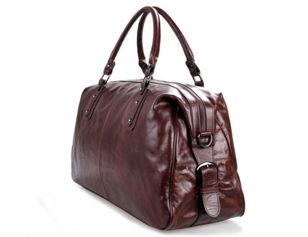 Кожаная дорожная сумка JASPER - MAINE 7071LC - Фото № 3