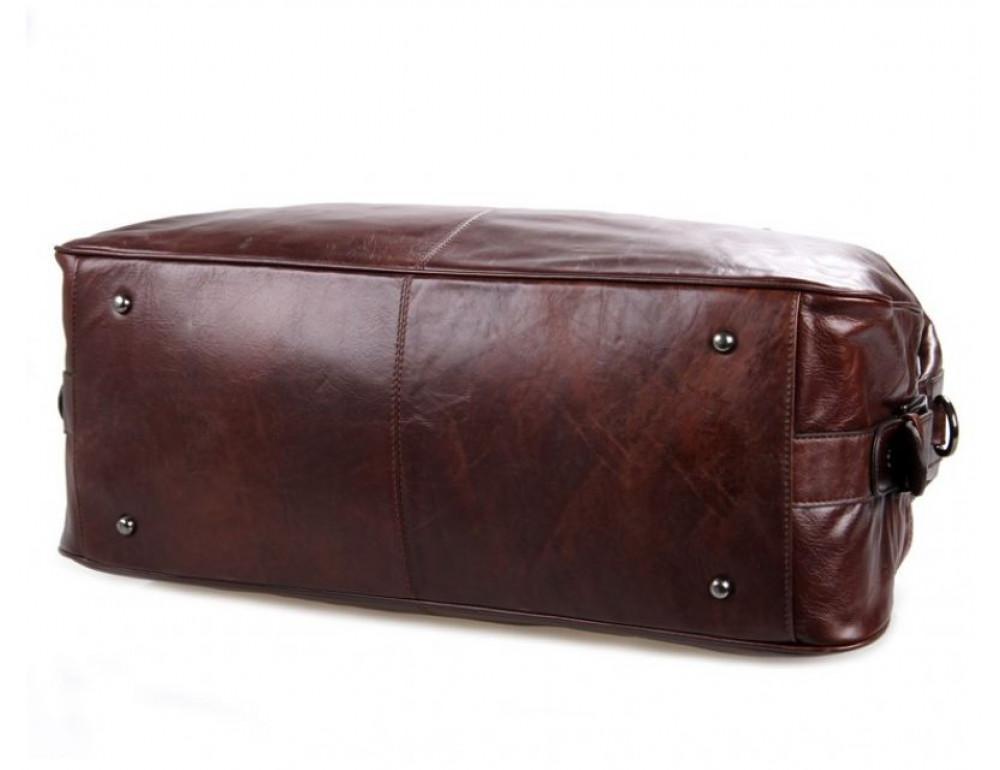 Кожаная дорожная сумка JASPER - MAINE 7071LC - Фото № 5