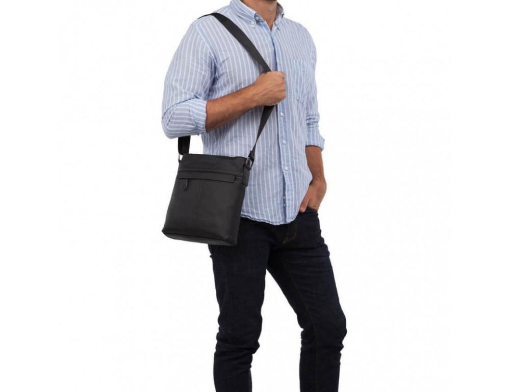 Мужской кожаный мессенджер Tiding Bag M38-3825A - Фото № 2