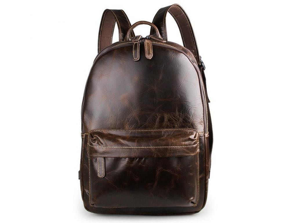 Чоловічий шкіряний рюкзак TIDING BAG 7273Q - Фотографія № 4
