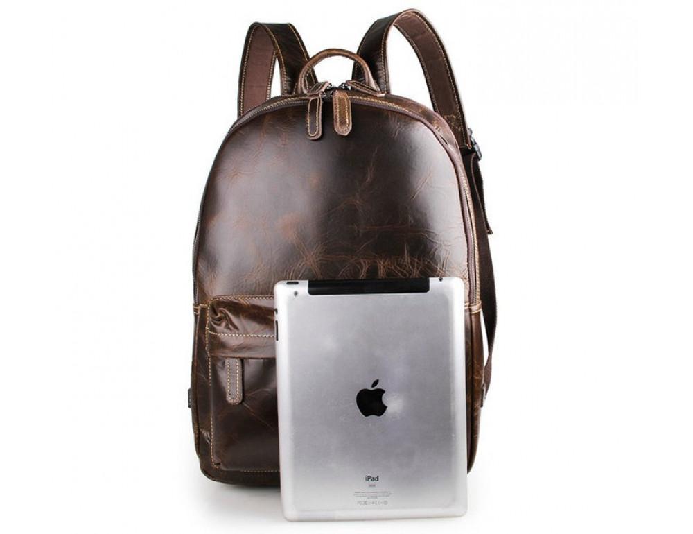 Чоловічий шкіряний рюкзак TIDING BAG 7273Q - Фотографія № 5