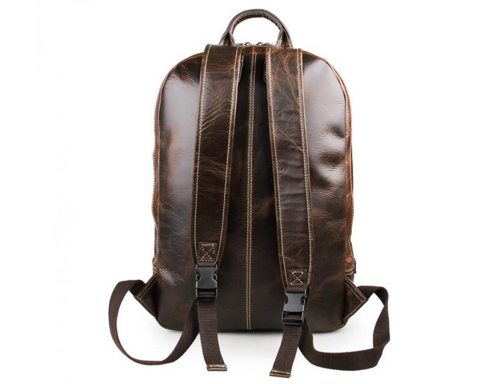 Чоловічий шкіряний рюкзак TIDING BAG 7273Q - Фотографія № 2