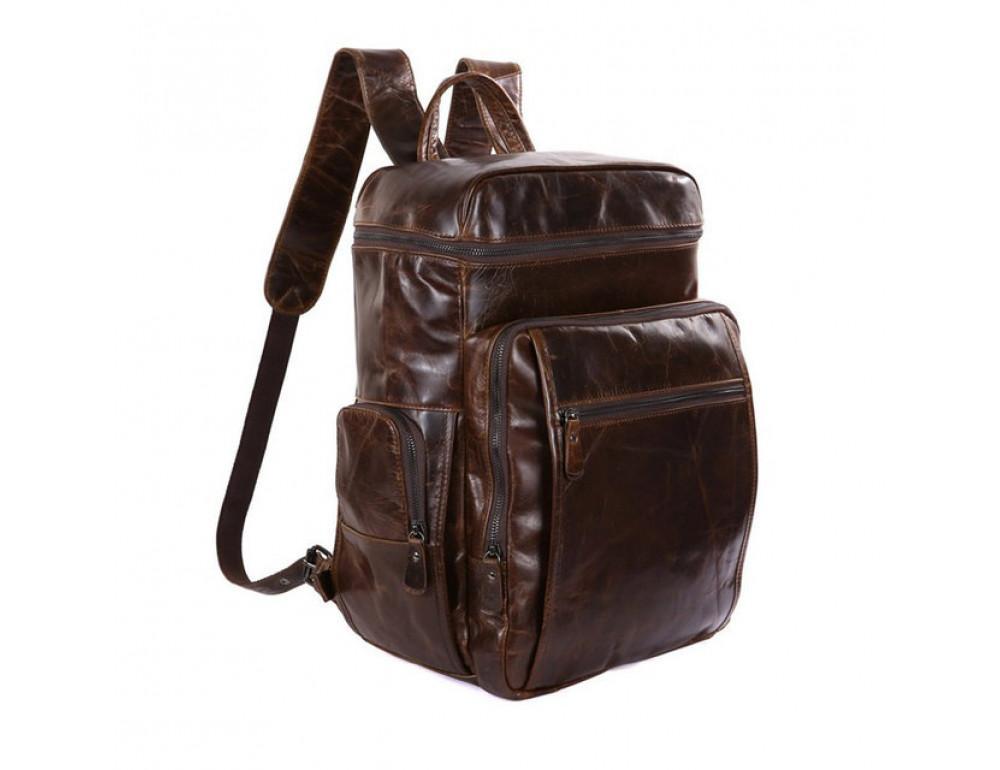 Мужской кожаный рюкзак TIDING BAG 7202C - Фото № 4