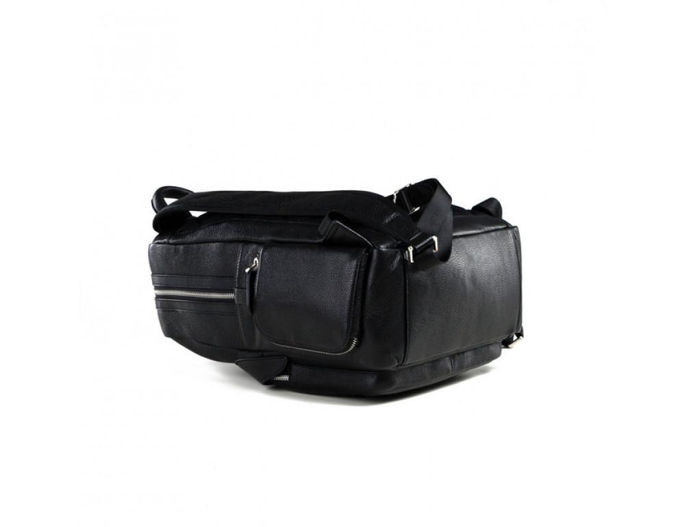 Чоловічий шкіряний рюкзак TIDING BAG B3-047A - Фотографія № 6