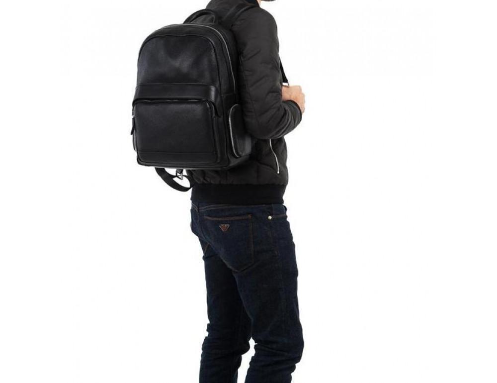 Чоловічий шкіряний рюкзак TIDING BAG B3-047A - Фотографія № 2