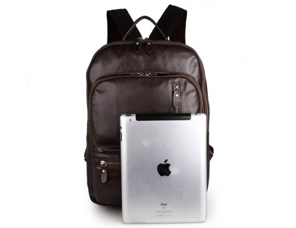 Чоловічий шкіряний рюкзак TIDING BAG 7313Q - Фотографія № 3
